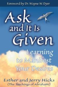 راز ــ تصویر روی جلد کتاب Ask and It Is Given