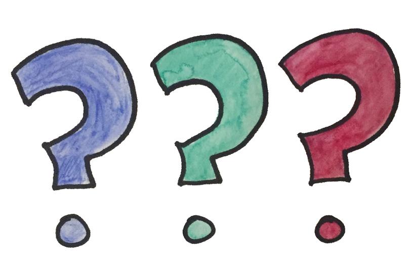 علامت سوال - اگر نمیدانید بپرسید