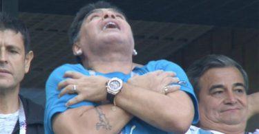 مارادونا در جام جهانی ۲۰۱۷